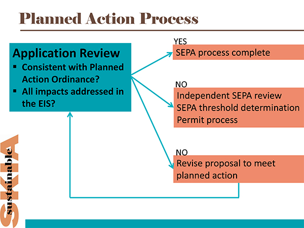 Planned Action Flow Chart