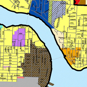 Comprehensive Plan Amendments Map