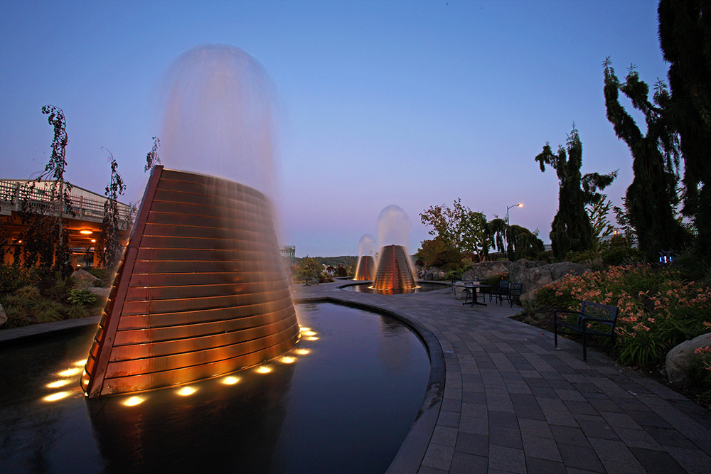 Harborside Fountain Park