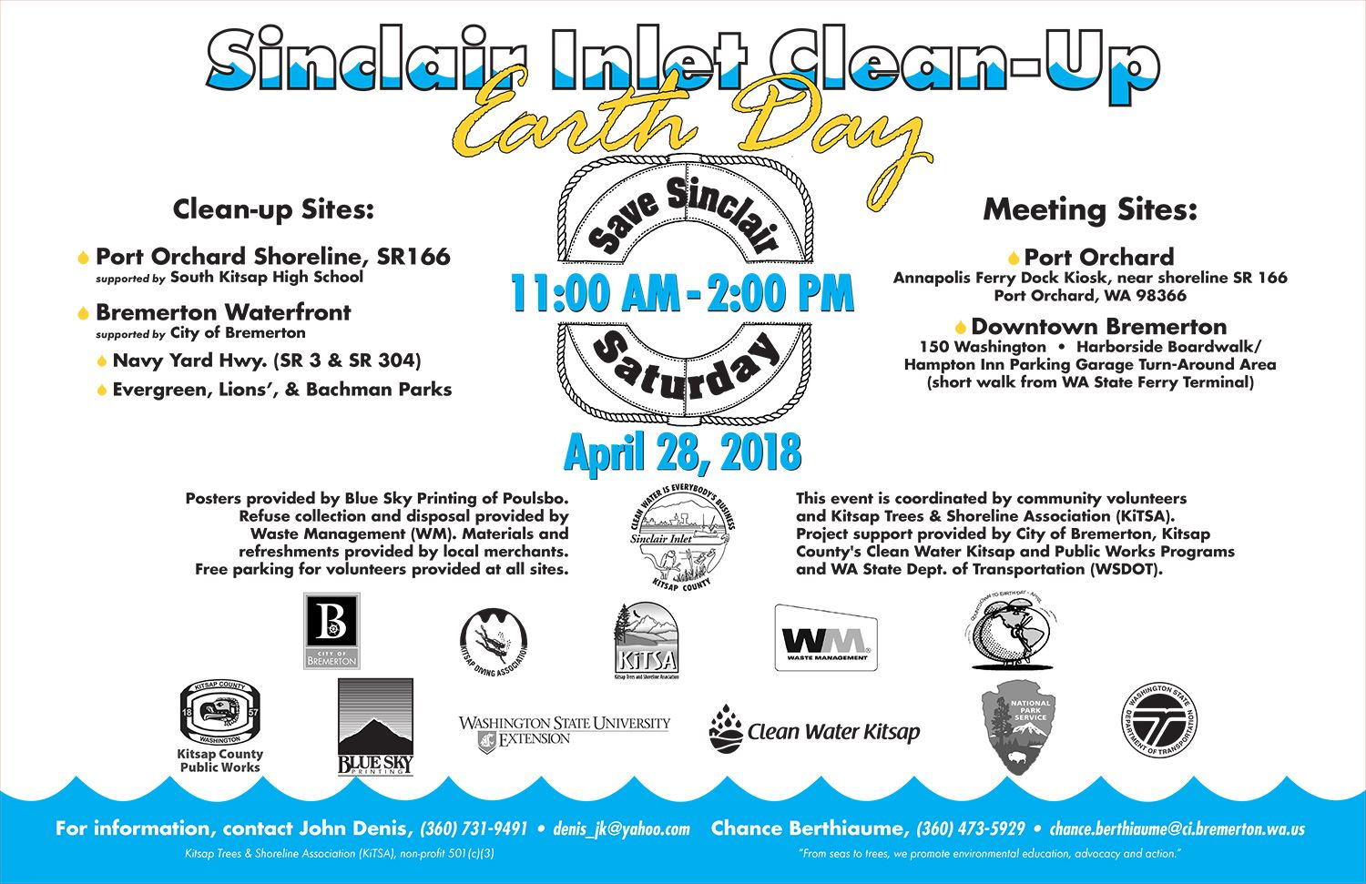 Sinclair Inlet Cleanup