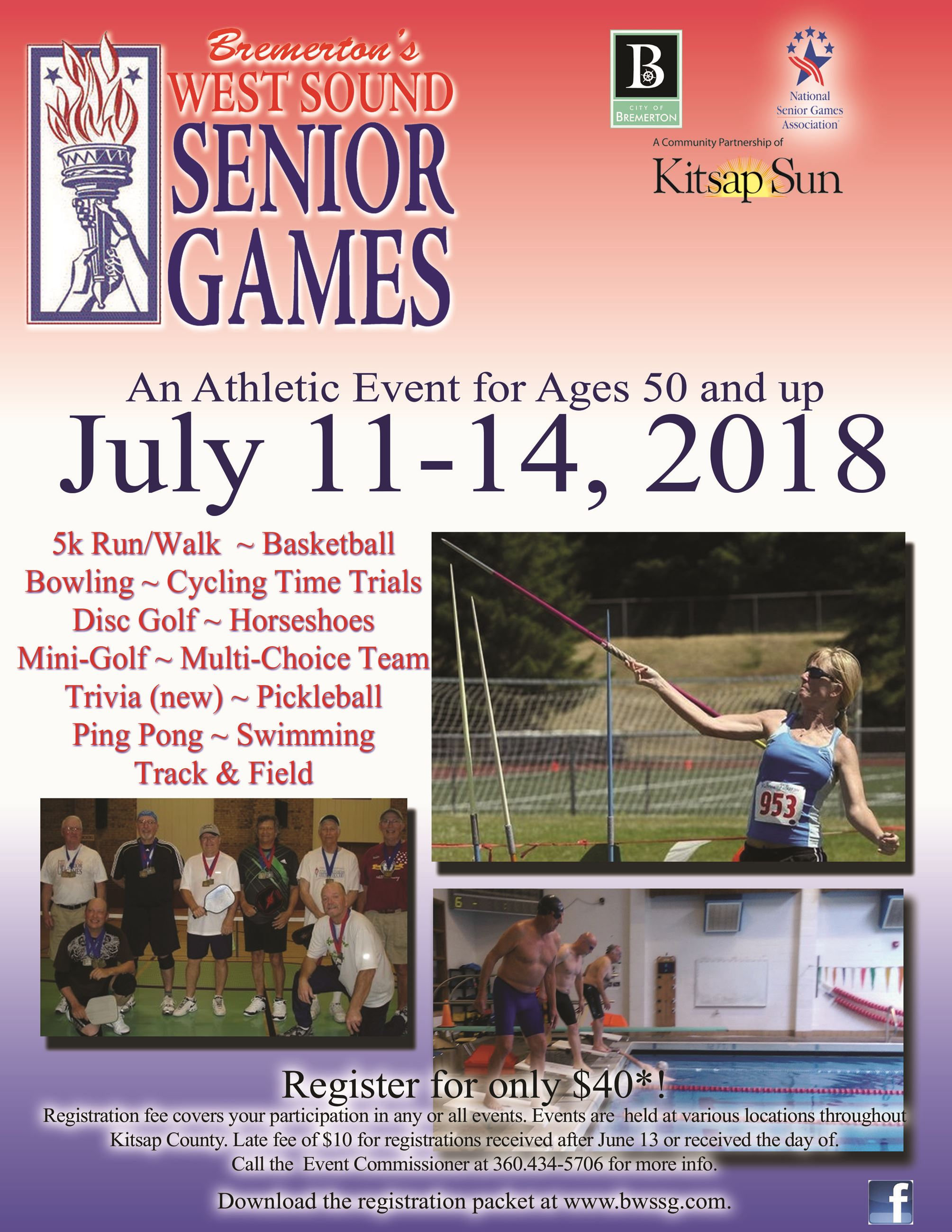 2018 Bremerton West Sound Senior Games