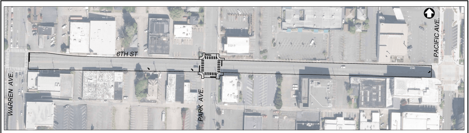 6th St Warren Ave to Pacific Ave Pavement Preservation (Phase II)