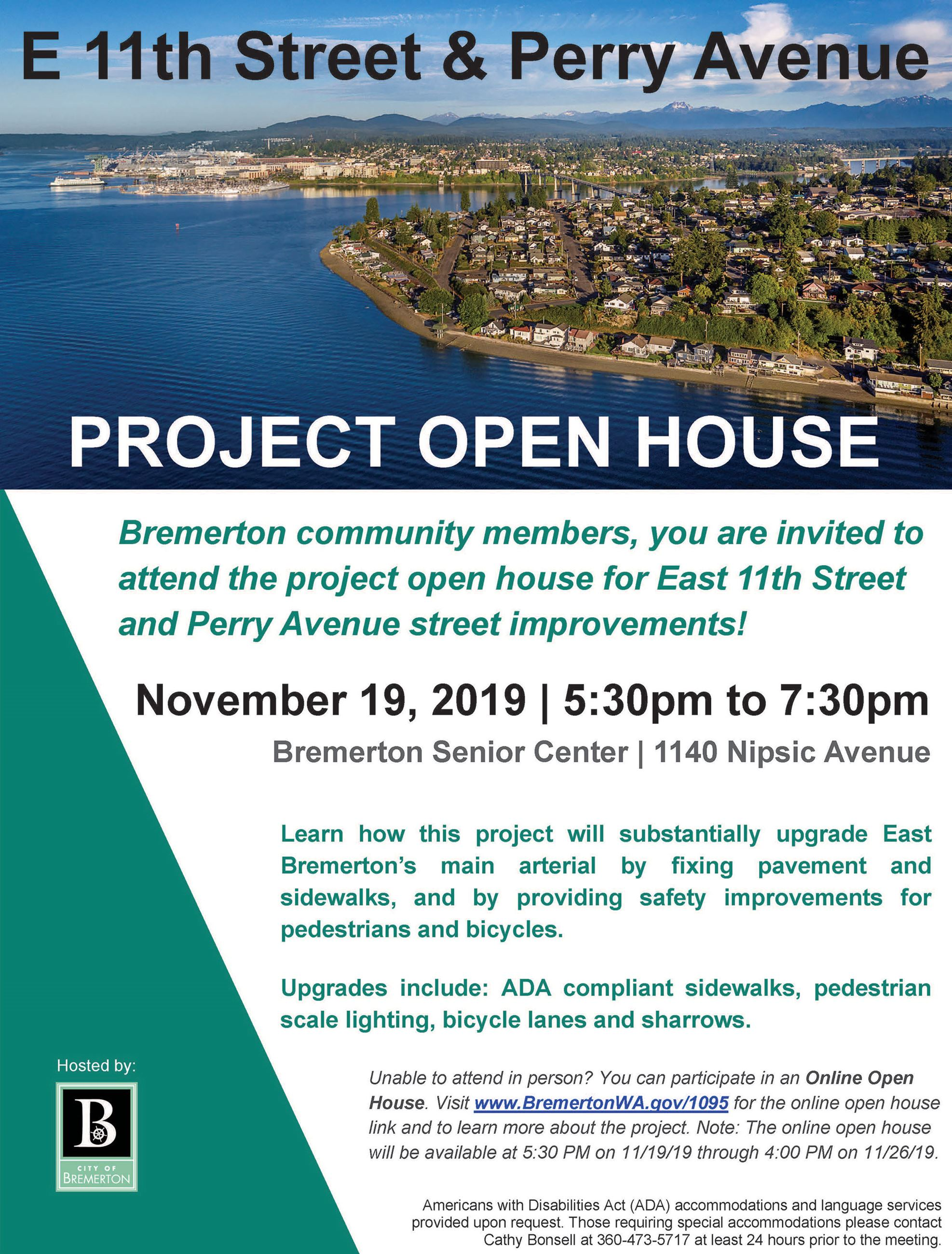 E 11th and Perry Ave Open House