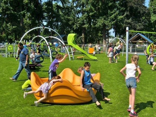 Evergreen Rotary Park Inclusive Playground