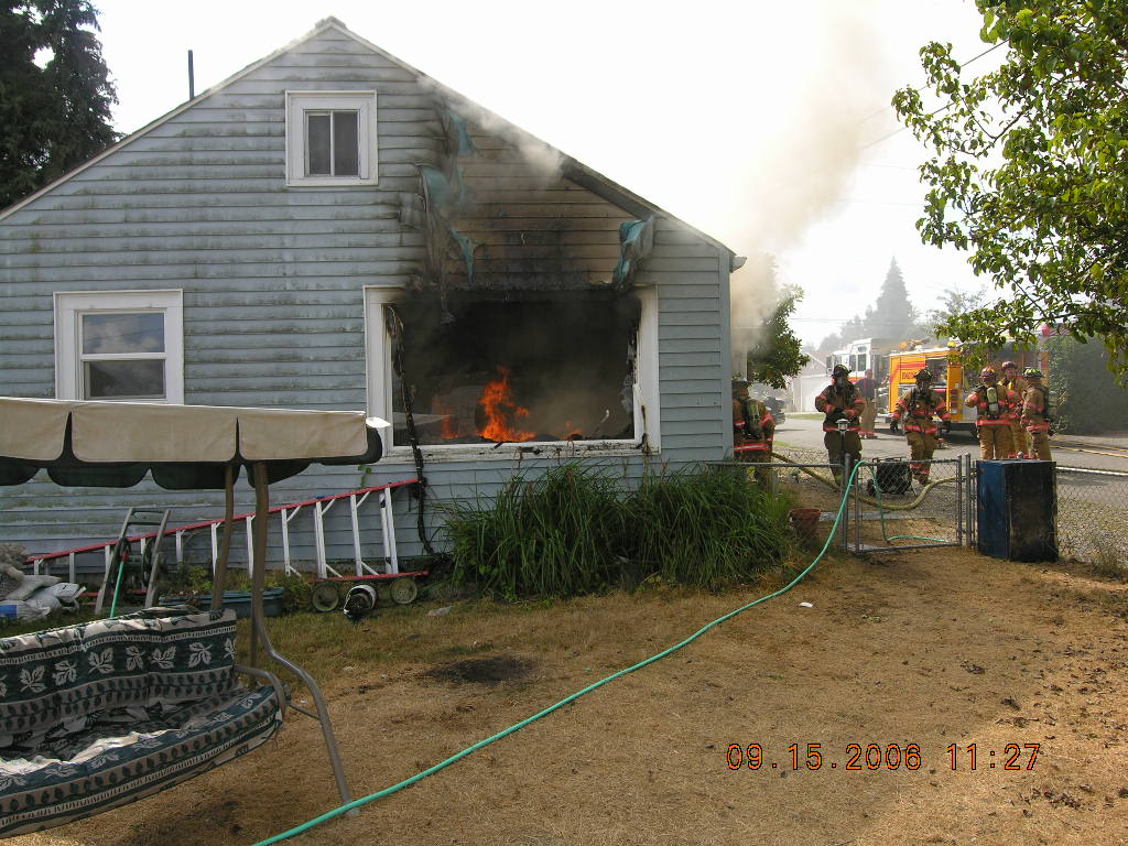 House Fire on Henry Avenue