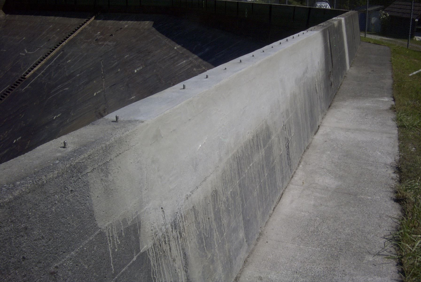 229 finished parapet wall repair