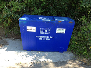Grease Recycling Recepticle