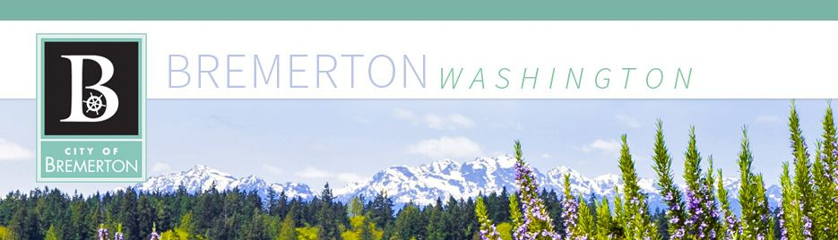 City of Bremerton Header