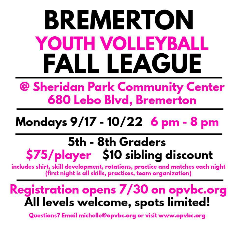 Fall Youth Volleyball