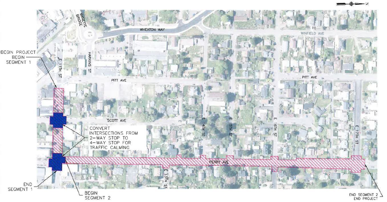 East 11th and Perry Ave Street Improvement