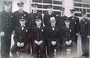 Firemen in Dress Clothes