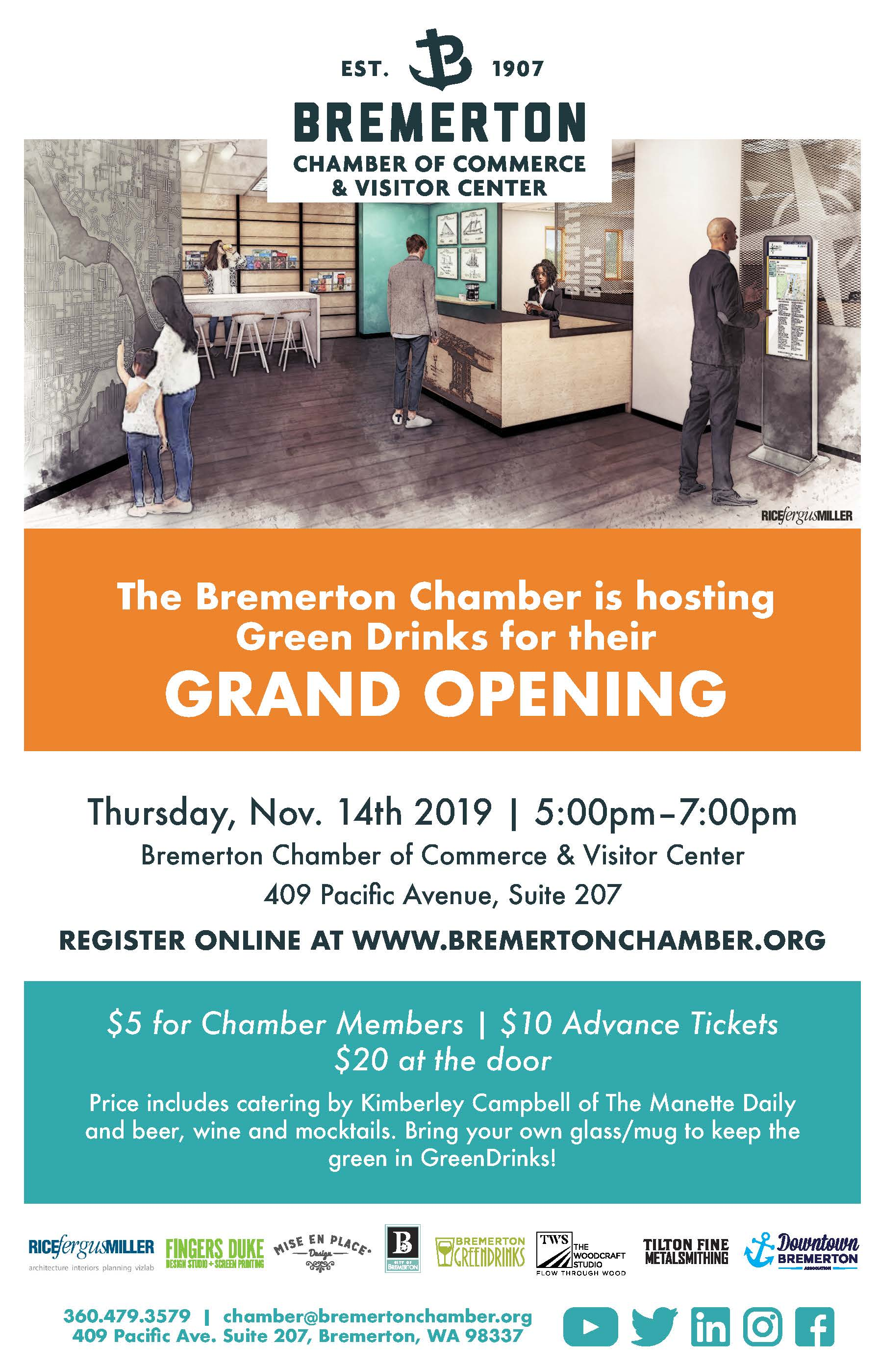 Bremerton Chamber of Commerce & Visitor Center Grand Opening