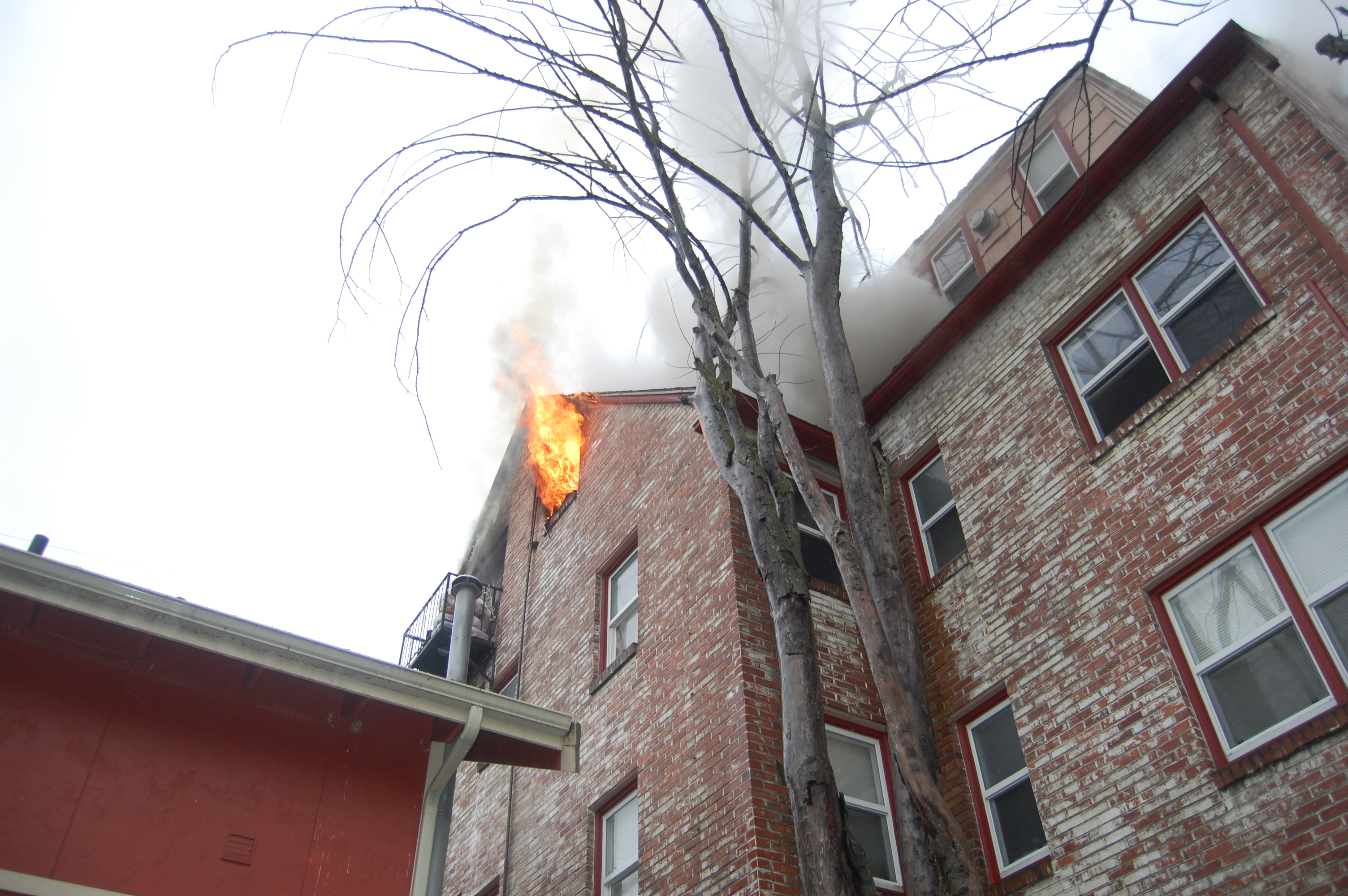 Apartment Fire on State Street